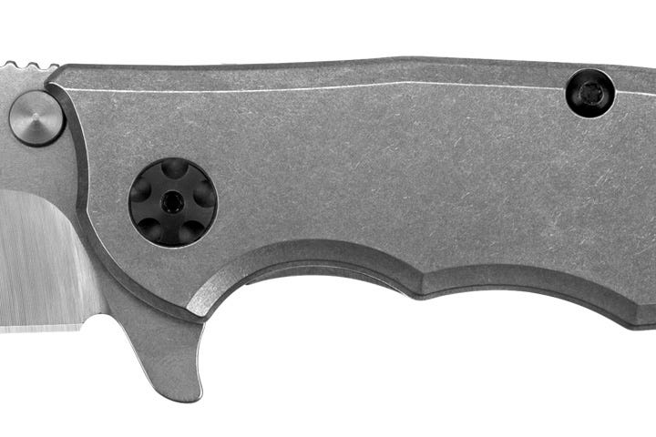 Titanium handle